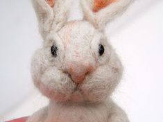How to Make a Cute Needle-Felted Bunny for Easter