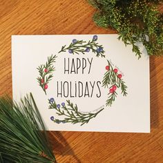 Want to know more about Handmade Christmas Card Ideas Diy Holiday Cards, Xmas Cards, Greeting Cards, Watercolor Christmas Cards, Watercolor Cards, Handmade Christmas, Christmas Crafts, Christmas Decorations, Christmas Holiday