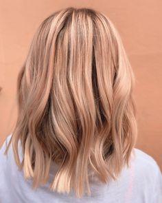Peach Hair Dye, Peach Hair Colors, Hair Color Pink, Hair Color For Black Hair, Blonde Color, Lilac Hair, Gray Hair, Hair Colors For Summer, Blue Hair