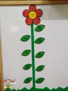 Súper PT: Un jardín de números Kindergarten, Math, Blog, Special Education Classroom, Note Cards, Activities, Plants, Learn French, Kindergartens