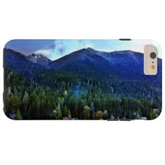 Lake Crescent Cabins Olympic National Park Tough iPhone 6 Plus Case