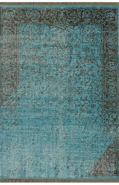 Rugs USA Jasmine FR3 Turquoise Rug,100% Wool, Hand made, Contemporary, blue, turquoise, home decor, home design, summer.