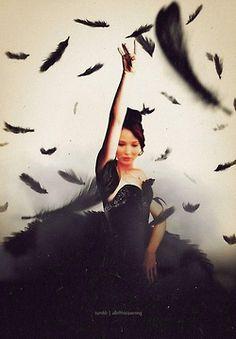 Jennifer Lawrence as Katniss Everdeen in Catching Fire. /// Fan edit // The Mockingjay// LOVE.