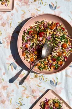 Lime & Blistered Peanut Coleslaw Recipe