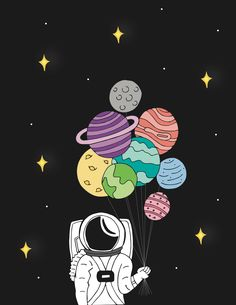 Astronauta con planetas ideas on canvas trippy space Simple Canvas Paintings, Easy Canvas Art, Small Canvas Art, Mini Canvas Art, Diy Canvas, Space Drawings, Cool Art Drawings, Art Drawings Sketches, Sketch Art