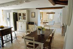 Tastefully renovated stone house and garden | France Property Guide Property Guide, Property Prices, French Property, Aquitaine, Dining Table, France, Stone, Garden, House