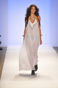 Mara Hoffman Swimwear Collection For Spring/Summer 2013 Presented During The Mercedes Benz Swim Fashion Week In Miami, Florida, On July 21, 2012...