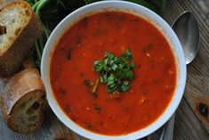 Tomato & Roasted Pepper Soup - My Halal Kitchen   Inspiration for Wholesome Living-with Yvonne Maffei