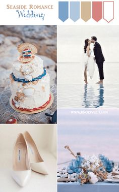Another beautiful re-imagined wedding on the blog! A nautical inspired wedding by Gee from Knotsvilla. So pretty!! See more here http://www.love4wed.com/bloggers-say-i-do-gee-knotsvilla/ #weddingblog #reimaginedwedding