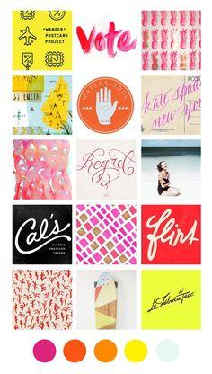 Eva Black Design | Blog: Inspiration Board: California, Fashion, Travel