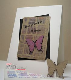 Clear Stickers, Quick Cards, Geometric Background, Artist Trading Cards, Artsy, Paper Crafts, Butterfly, Projects, Blog
