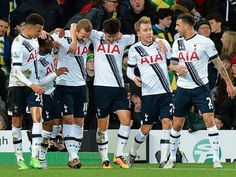 Wimmer Wimmer chicken dinner: Spurs players celebrate Norwich win on social media