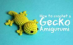 How to crochet a Gecko Amigurumi   World Of Amigurumi