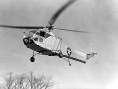 April 22, 1944: The 1st Air Commando Group using Sikorsky R-4 helicopters stage the first use of helicopters in combat with CSAR operations in the China-Burma-India theater.