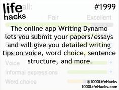The online app Writting Dynamo lets you submit your papers/essays and will give you detailed writing tips on voice, word choice, sentence structure and more.