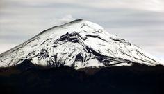 Volcán Popocatépetl, México, tomada desde San Rafael
