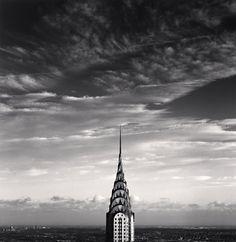 Photographer: Michael Kenna - Chrysler Building, Study 3, New York City, USA, 2006 - copyright to Michael Kenna