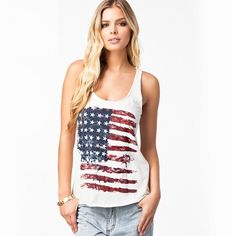 Women Stylish USA Flag Print Tanks Shirts Halter Tops Summer Sleeveless Sexy Slim Shirts Cotton Outwears from Smartmart,$8.91 | DHgate.com