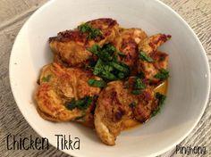 Paleo Chicken Tikka. No yogurt used.
