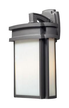 ELK Lighting Sedona 2- Light Outdoor Sconce In Graphite - 42342/2
