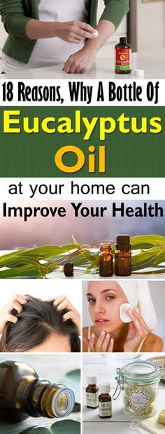 A bottle of Eucalyptus oil can do wonders. Here's the list of 18 best Eucalyptus Oil Medicinal Uses!