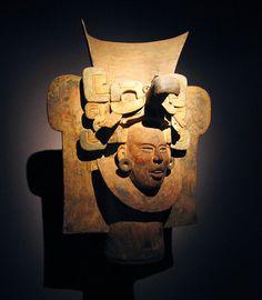 Monte Alban II, Oaxaca, Mexico. Museo Nacional de Antropología, Mexico City.