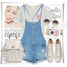 overalls outfit ideas for 2017 (8)