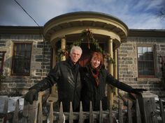 Bruce and Irene Thurston hope to convince the Region of Waterloo not to slash funding for historic McDougall Cottage in Cambridge.