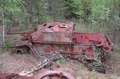 German Panzer Relics Recovered in Europe