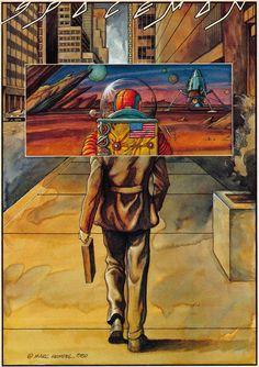 Marc Hempel Spaceman 1980