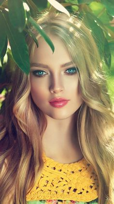Girls fashion: New girl photography Most Beautiful Eyes, Beautiful Girl Image, Beautiful Women, Lovely Eyes, Girl Face, Woman Face, Belle Silhouette, Blonde Beauty, Pretty Eyes