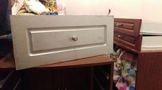 Small closet makeover. Before pictures and testing out the silver. Loved it!