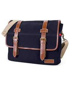 Tommy Hilfiger East West Flapover Messenger Bag