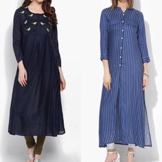 Kurta for office Kurta Patterns, Ethenic Wear, Long Kurtis, Kamiz, Woman Style, Kurta Designs, Office Wear, Indian Dresses, Indian Wear
