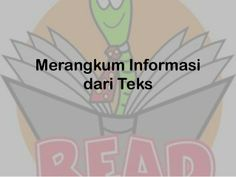 Merangkum informasi by Novita Dewi via slideshare