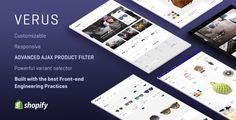 VERUS | Premium Shopify Theme #shopifytheme #shopify #theme #template #store #webdesign #responsive