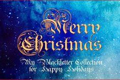 Royal Bavarian Christmas Packet by Wiescher Design on @creativemarket