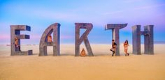 Remember those five German girls from the first set of Burning Man photos I posted from this year? Sure you do! Well, here they are, back for more! - Burning Man, Nevada - Photo from #treyratcliff Trey Ratcliff at http://www.StuckInCustoms.com
