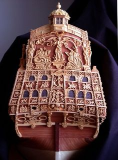 Sovereign of the Seas (1637) Boxwood carvings. :: Members Photo Gallery :: Ship Modeling Forum