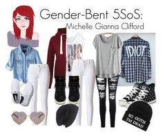 A fashion look from June 2015 featuring tartan plaid shirt, grey tee and blue denim shirt. Browse and shop related looks. 5sos Outfits, Cute Outfits, Michelle Michaels, 5sos Preferences, 5sos Imagines, Supernatural Funny, 5 Sos, Michael Clifford, Summer Fashion Outfits