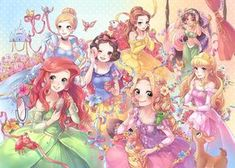 Image discovered by Find images and videos about cute, anime and kawaii on We Heart It - the app to get lost in what you love. Disney Pixar, Arte Disney, Disney Cartoons, Disney And Dreamworks, Disney Movies, Disney Princess Drawings, Disney Princess Art, Anime Princess, Disney Fan Art
