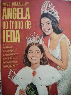 .: SESSÃO NOSTALGIA - Ieda Maria Vargas, a primeira vez que a Miss Universo 1963 chorou em público