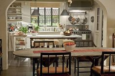 's complicated A Nancy Meyers home is always a stylish one, but the kitchen in this Meryl Streep flick makes us swell with jealousy. Oh, to bake in that heavenly oven!