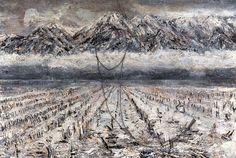 Anselm Kiefer, tönend wie des Kalbs Haut die Erde (2011) on ArtStack #anselm-kiefer #art