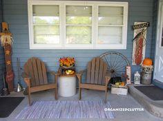 small porch cute