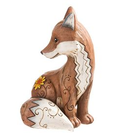 Another great find on #zulily! Brown Fox Wishgiver Figurine #zulilyfinds