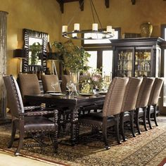 A lot of intelligent features of Kingstown 11 Piece Dining Set By Tommy Bahama Home. obtain expert information on a Kingstown 11 Piece Dining Set By Tommy Bahama Home . Formal Dining Tables, Round Dining, Elegant Dining, Dining Sets, Home Decoracion, Extendable Dining Table, Dining Room Design, Dining Decor, Dining Room Furniture