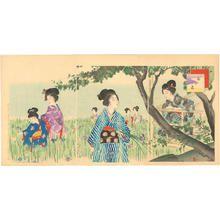 Miyagawa Shuntei: Iris Garden - Japanese Art Open Database