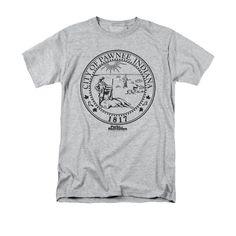 Parks & Recreation - Pawnee Seal Adult Regular Fit T-Shirt