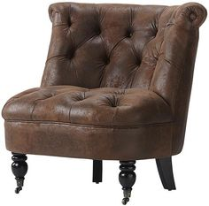 I Am On The Hunt For A Brown Leather Club Chair That Looks Like It Could Living Room